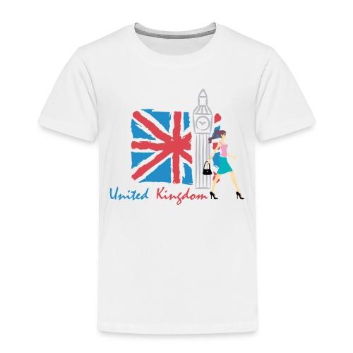 Funny United Kingdom Shopping Shirt - Kids' Premium T-Shirt