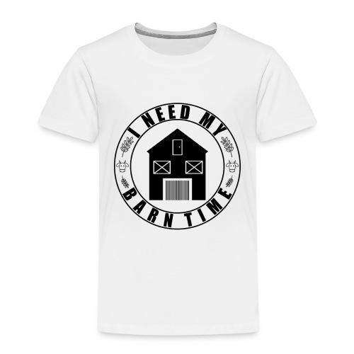 Landwirt Scheune Kuh Geschenk - Kinder Premium T-Shirt