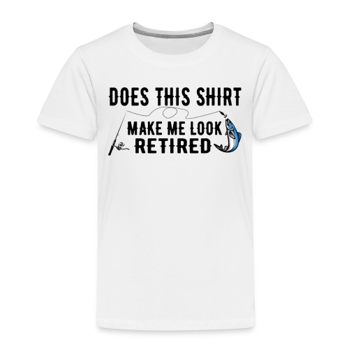Rente Shirt geschenk aussehen - Kinder Premium T-Shirt