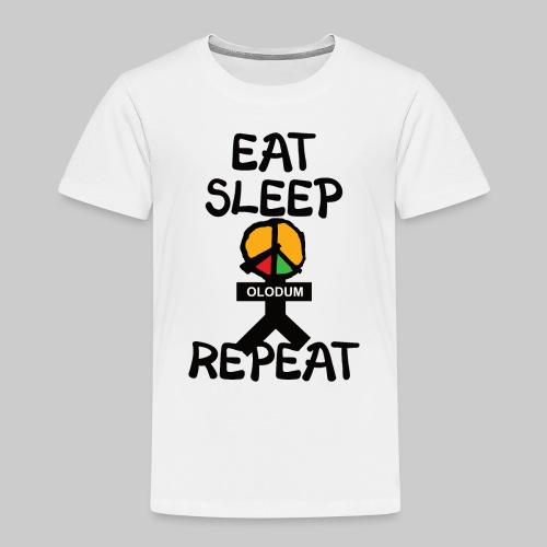 eat sleep olodum repeat - Kinder Premium T-Shirt