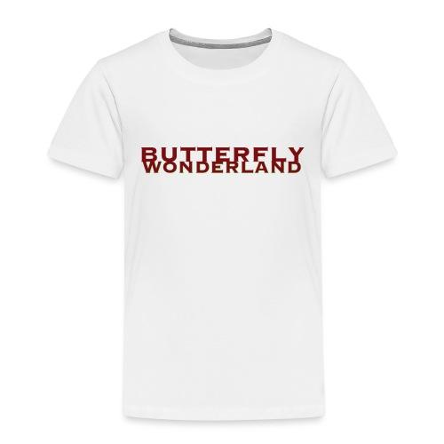 Butterfly Wonderland - Kinder Premium T-Shirt