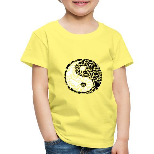 YinYang Cats - Kinder Premium T-Shirt