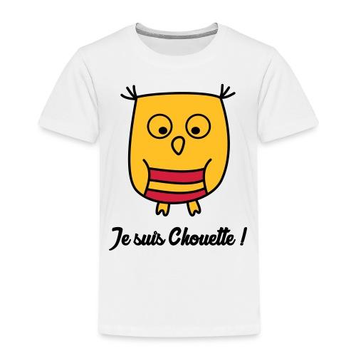 Hibou Chouette enfant naissance bébé animal - T-shirt Premium Enfant