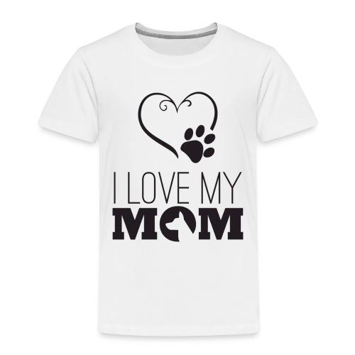I love my Mom - Kinder Premium T-Shirt