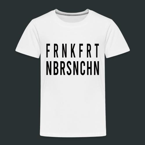 Frankfurt Oder nbrsnchn - Kinder Premium T-Shirt