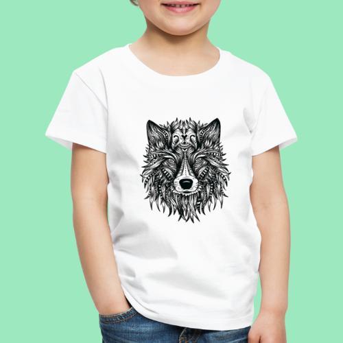 bohemian Wolf T-shirt - Kinderen Premium T-shirt