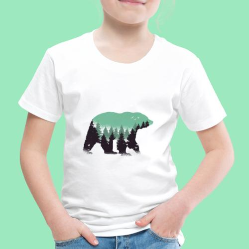 Forest bear - Kinderen Premium T-shirt