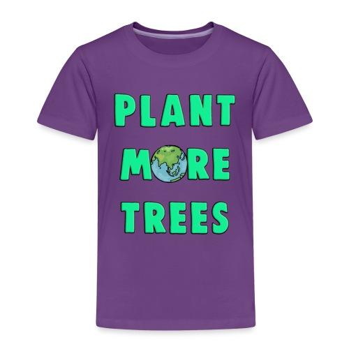 Plant More Trees Global Warming Climate Change - Kids' Premium T-Shirt