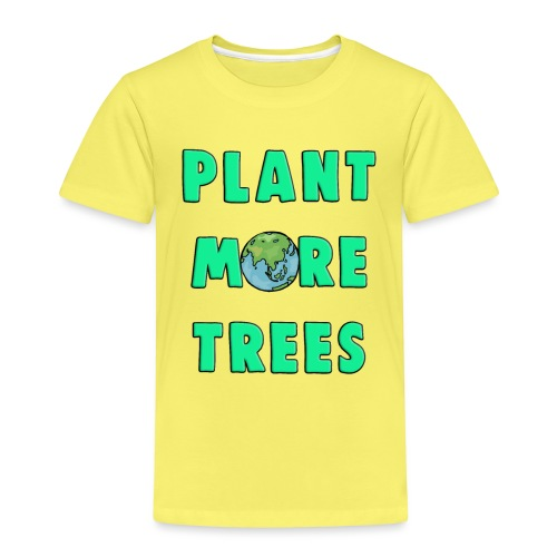 Plant More Trees Global Warming Climate Change - Kids' Premium T-Shirt