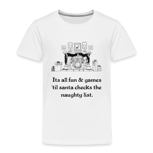 Weihnachten Christmas Ugly Kinder Bild Lustig - Kinder Premium T-Shirt