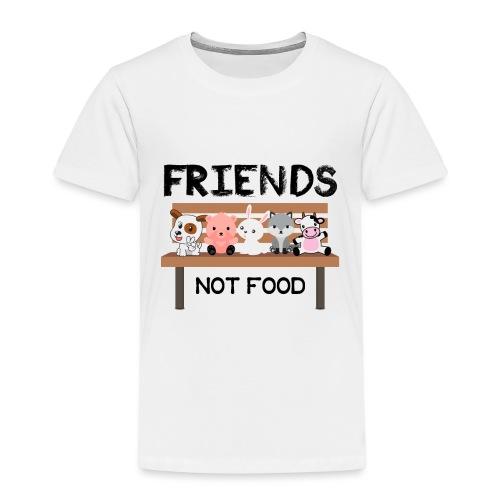 Friends Not Food - Kinder Premium T-Shirt