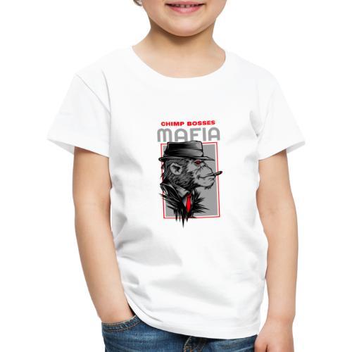 Chimp Bosses Mafia - Kinder Premium T-Shirt