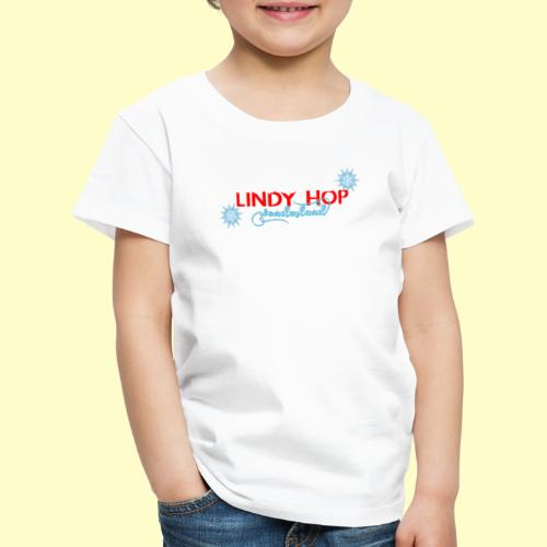 Lindy Hop Wonderland Tanz T-shirt - Kinder Premium T-Shirt