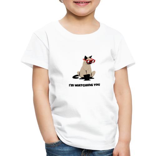 Stalking Cat - Kinder Premium T-Shirt