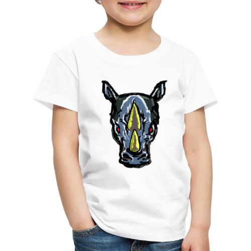 Angry Rhino - Kinder Premium T-Shirt