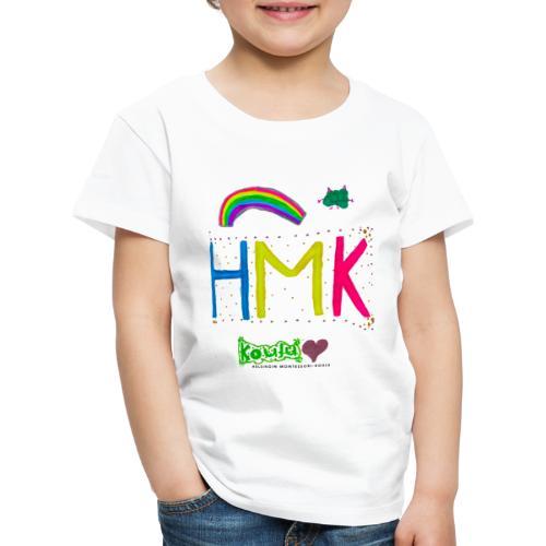 HMK Montessori-koulun omat - Lasten premium t-paita