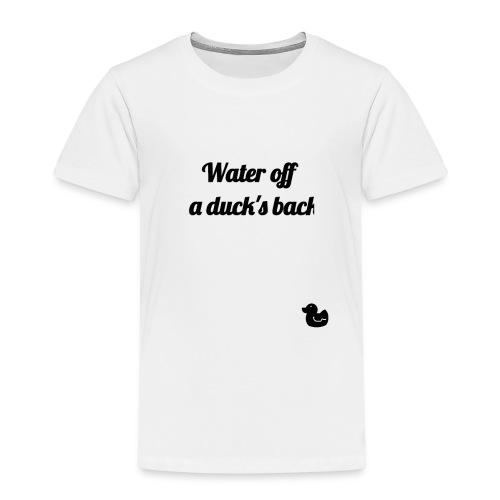 Watter of a Duck - Camiseta premium niño