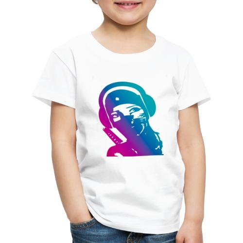 ninja headphone headphones, ninja, music, gaming - T-shirt Premium Enfant