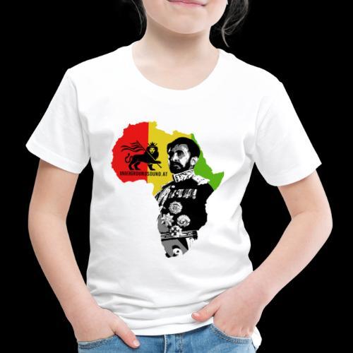 Africa Conquerin Lion H.I.M. - Kinder Premium T-Shirt