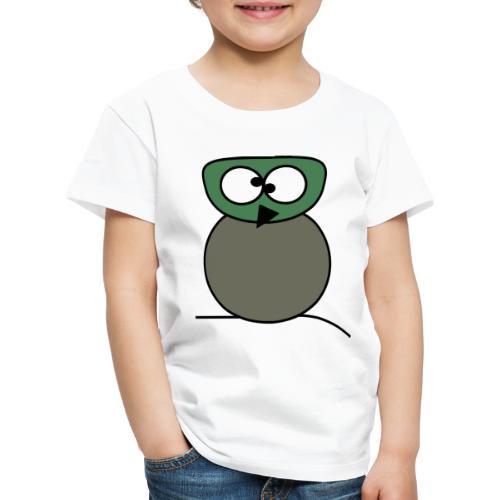 Owl crazy - c - Kinder Premium T-Shirt