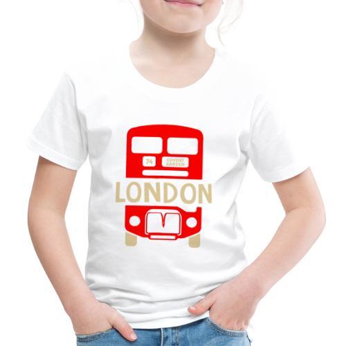 London Bus Roter Doppeldecker London Fan Souvenir - Kinder Premium T-Shirt