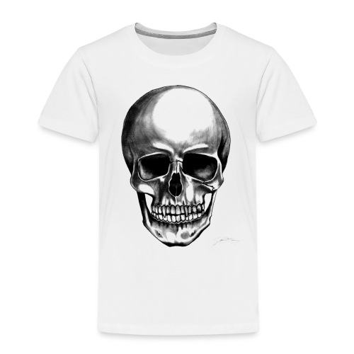 Skull Transparent Background - Kinder Premium T-Shirt
