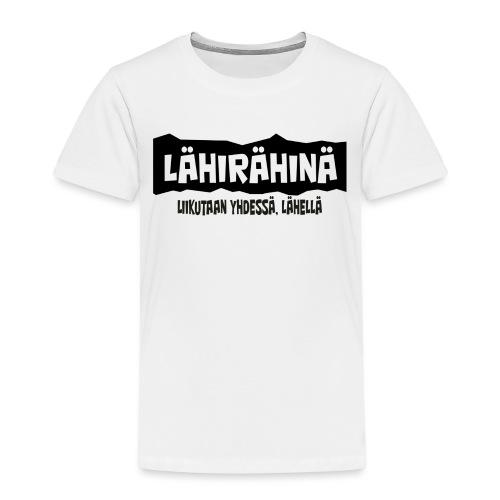 Lähirähinä Officiel - Lasten premium t-paita