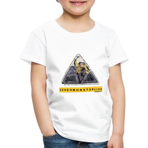TRIANGOLO VASCO - Maglietta Premium per bambini