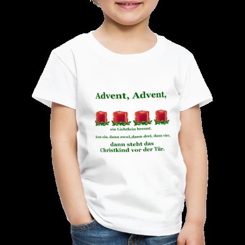 Advent-Countdown 2 - Kinder Premium T-Shirt