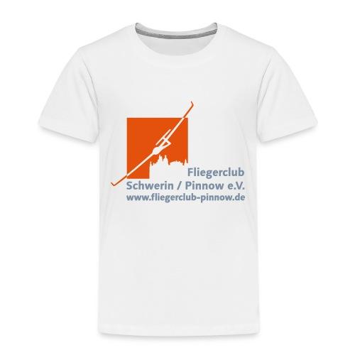 Logo Fliegerclub Schwerin Pinnow (web) - Kinder Premium T-Shirt