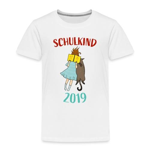 Schulkind 2019 | Einschulung und Schulanfang - Kinder Premium T-Shirt
