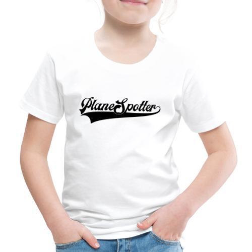 PlaneSpotter Retro - Koszulka dziecięca Premium