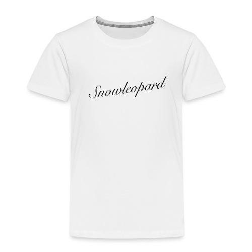 snowleopard - schneeleopard/ Wintergeschenk - Kinder Premium T-Shirt