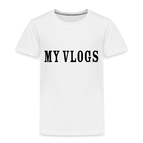 My Vlogs - Kids' Premium T-Shirt