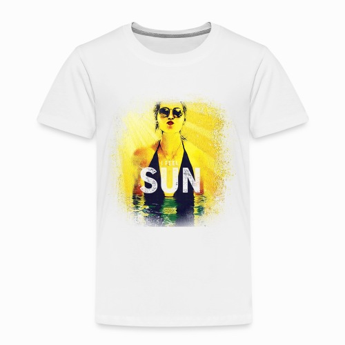 Gyrlie - I Feel Sun (Industrial) - Kinder Premium T-Shirt