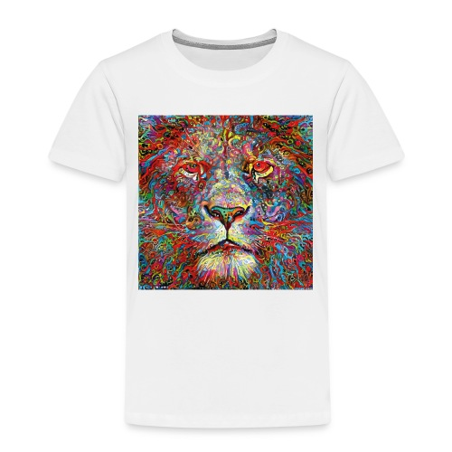 Deep Lion MaxColor CMJN08 - T-shirt Premium Enfant