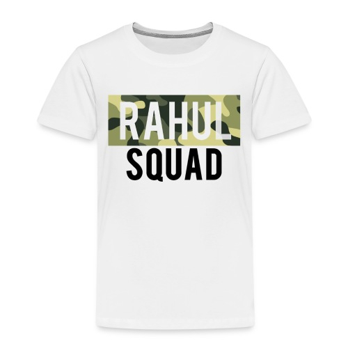 RahulSquad Official Camo T-Shirt - Kids' Premium T-Shirt