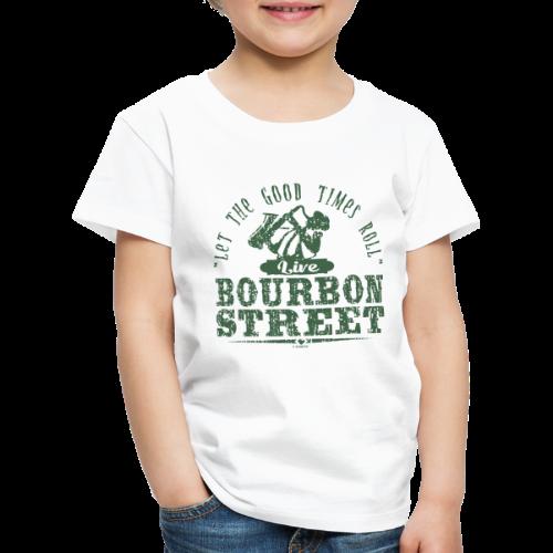 15-9 LIVE BOURBON STREET TEKSTILES, GIFT WEBSHOP - Lasten premium t-paita