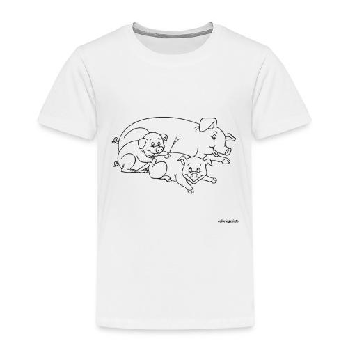 Cochon de lait. - T-shirt Premium Enfant