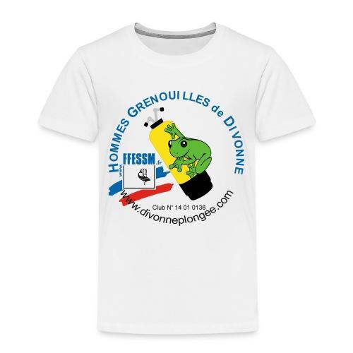 Hommes Grenouilles de Divonne - T-shirt Premium Enfant