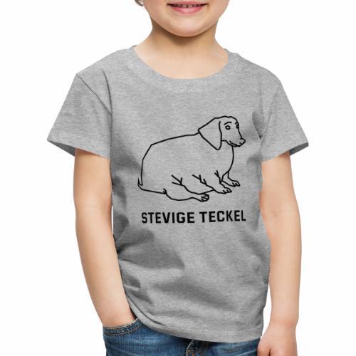 Stevige Teckel - Kinderen Premium T-shirt