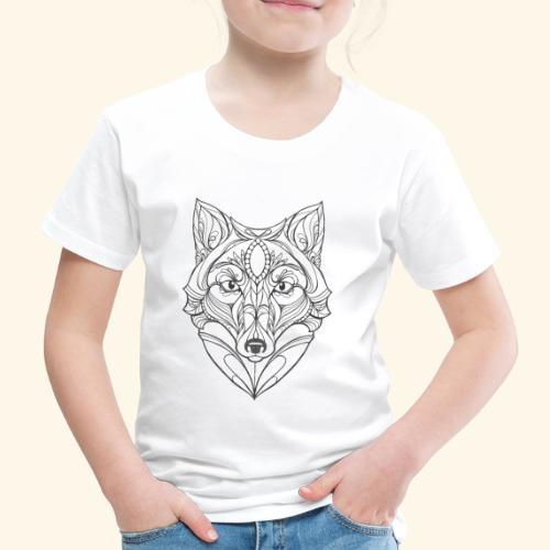 Wolf EP cover - Børne premium T-shirt