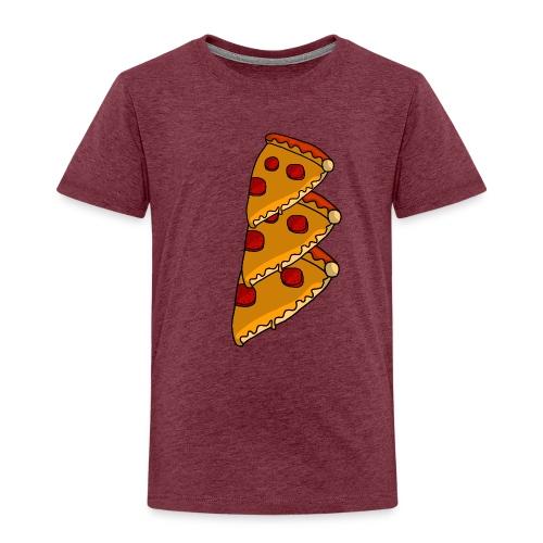 pizza - Børne premium T-shirt