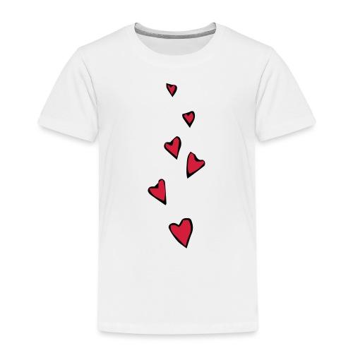 Cuori - Maglietta Premium per bambini