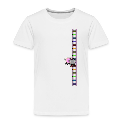 Flappy Goat In Space - Kids' Premium T-Shirt