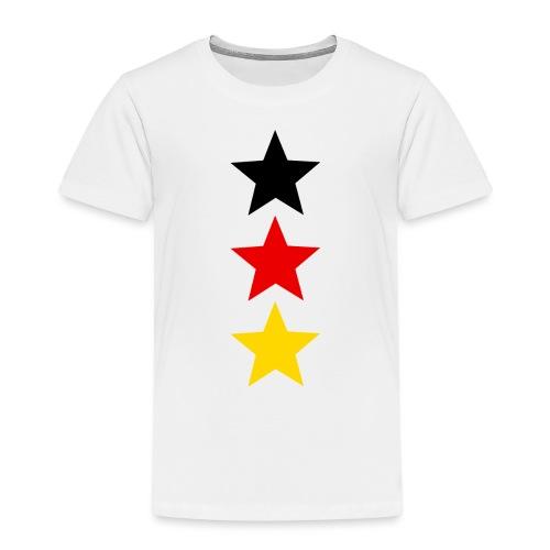 3 Sterne Deutschland #1 - Kinder Premium T-Shirt