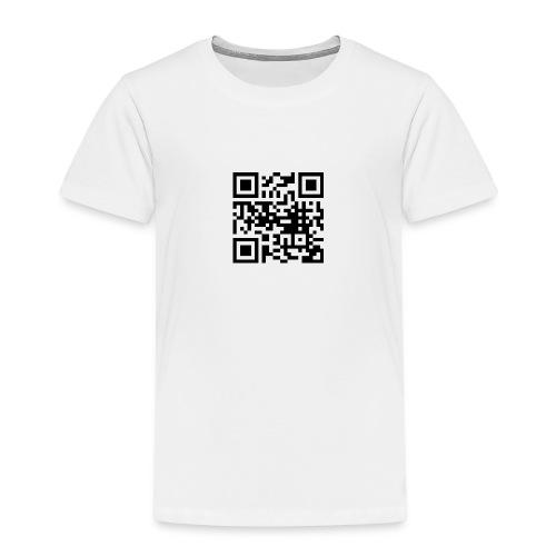 QR Code - Kinder Premium T-Shirt