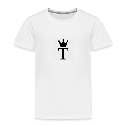 King Tobias of Norway - Premium T-skjorte for barn