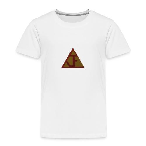 JF football type logo - Kids' Premium T-Shirt