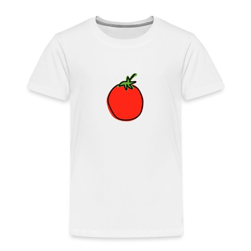 Cartoon Tomato - Kids' Premium T-Shirt